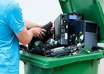 Empresas que compram lixo eletrônico