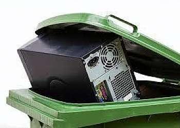 Reciclagem sucata informática