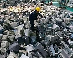 Empresas de coleta de lixo eletrônico