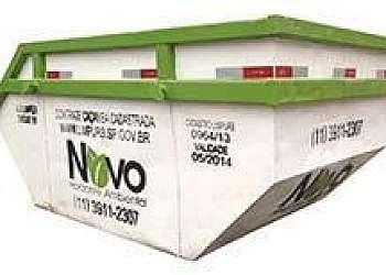 Coleta de lixo e resíduos sólidos