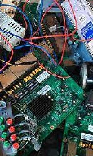 Empresa de reciclagem de eletrônicos