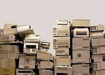 Retirar lixo eletrônico