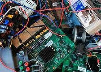 Usina de reciclagem de eletrônicos