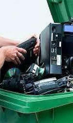 Reciclagem de produtos eletrônicos