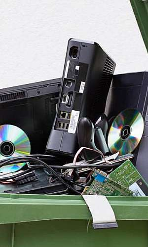 Reciclagem de resíduos tecnológicos
